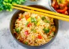 Indo-Chinese Style Vegetable Fried Rice Recipe