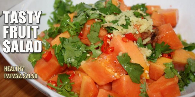Healthy Papaya Salad