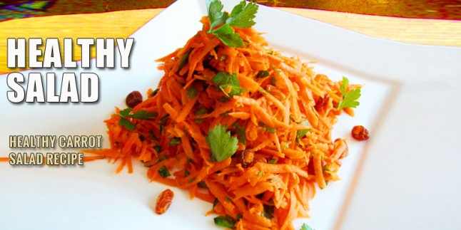 Healthy Carrot Salad Recipe