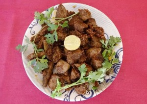 Delicious Mutton Liver Fry