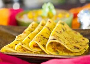 Paneer and Methi Paratha Recipe