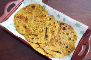 Soft and Spicy Masala Roti Recipe