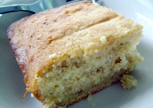 Tasty Butterscotch Banana Cake Recipe