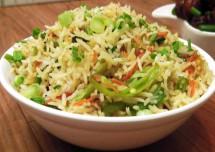 Simple Baby Corn Fried Rice Recipe