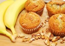 Tasty Banana Walnut Muffins Recipe