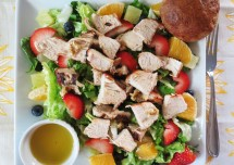 Best Fruits Salad Recipe with Chicken