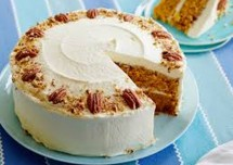 Coconut Carrot Cheese Cake Recipe
