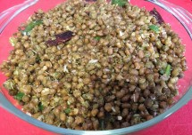 Delicious Green Gram Sundal Recipe