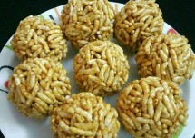 Delicious Puffed Rice Balls Recipe