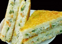 Easy Curd Sandwich Recipe