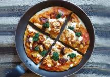 Easy Pan/Tawa Pizza Recipe