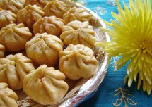 Ganesh Chaturthi Special Fried Modak Recipe
