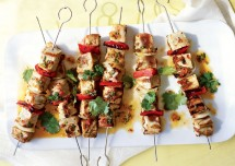Grilled Marinated Fish Kabab Recipe