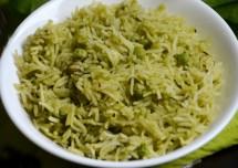 Healthy Palak Rice Recipe