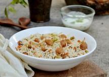 Healthy Soya Chunks Pulao Recipe