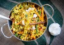 Indian Style Cauliflower Rice Recipe