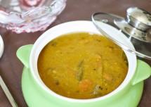 South Indian Style Sambar Recipe