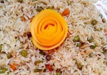 Soya Chunks and Beetroot Biryani Recipe