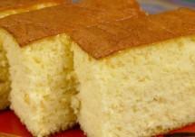 Sponge Vanilla Cake Recipe without Egg