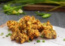 Tasty Spring Onion Pakora Recipe