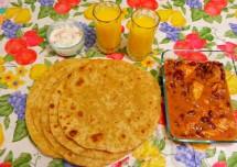 Tasty Garlic Paratha Recipe