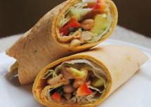Tasty Paneer Salsa Wrap Recipe