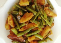 Tasty and Easy Aloo Beans Recipe