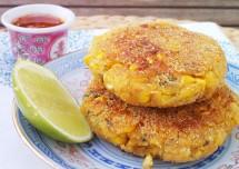 Thai Sweet Corn Cutlets Recipe