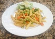Yummy Cheesy Vegetable Pasta Recipe
