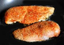 Pan Chicken fry recipe