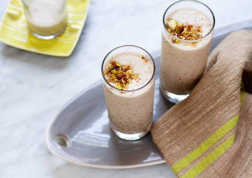 Healthy Dates Almond Milk Shake Recipe