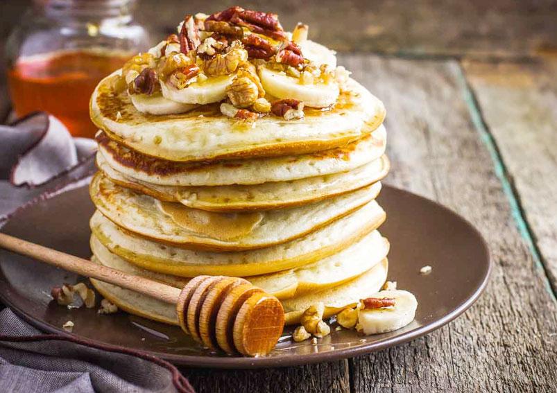 Tasty Apple- Honey Pancake Recipe