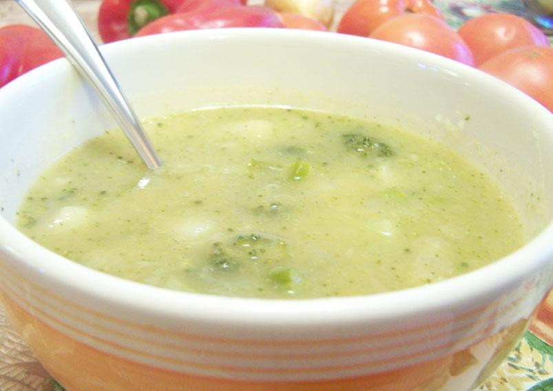 Broccoli Broth Soup Recipe