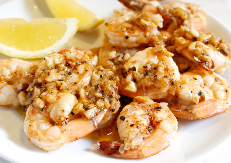Butter Garlic Prawns Recipe