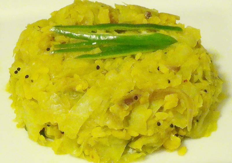 Cabbage and Chana Dal Sabzi Recipe