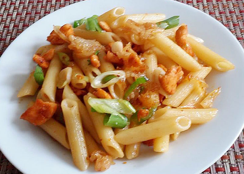 How to Make Channa Masala Pasta Recipe
