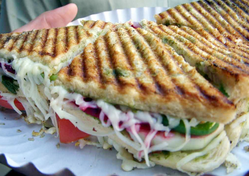 Vegetable Cheese Grilled Sandwich Recipe Yummyfoodrecipes In