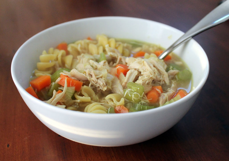 Tasty Chicken Broth Pasta Curry