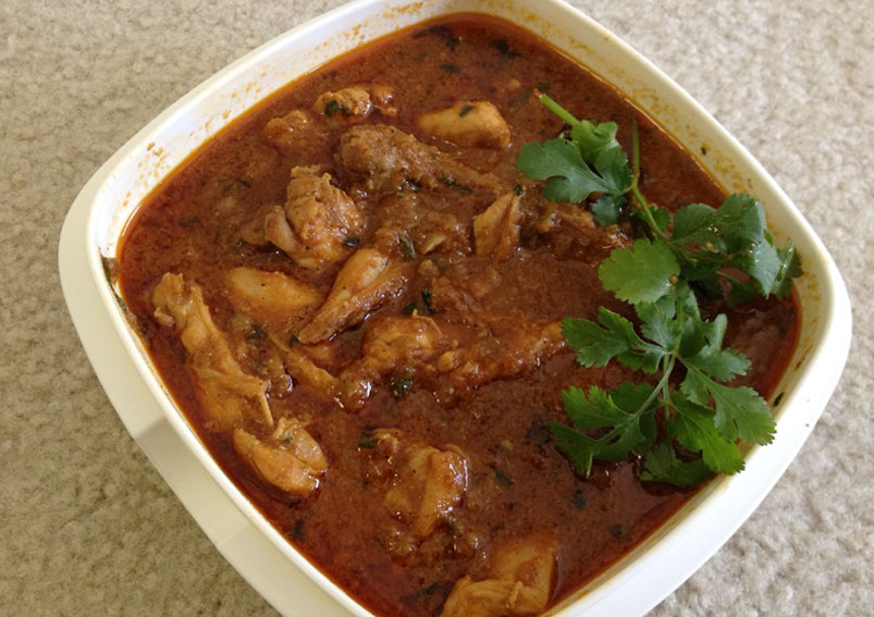 Tasty Spicy Chicken Curry Recipe
