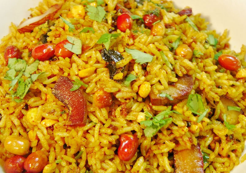 Tasty karnataka chitrana rice recipe dasshera special food recipe tasty karnataka chitrana rice recipe forumfinder Choice Image