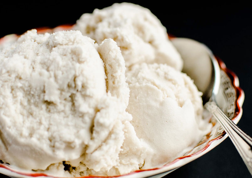 Easy Coconut Ice Cream Dairy Free