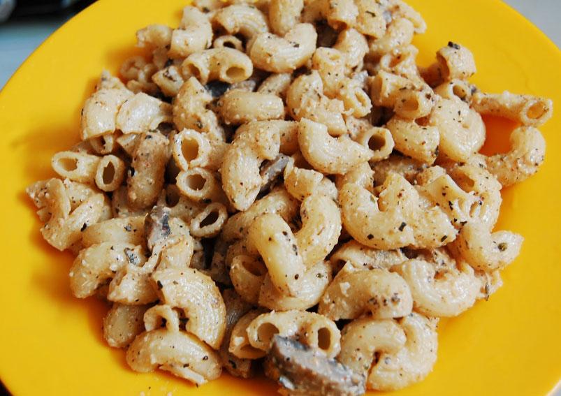 Creamy Mushroom Macaroni Recipe