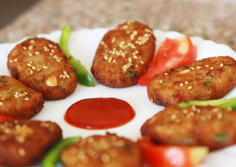Crispy Potato Bread Cutlet Recipe