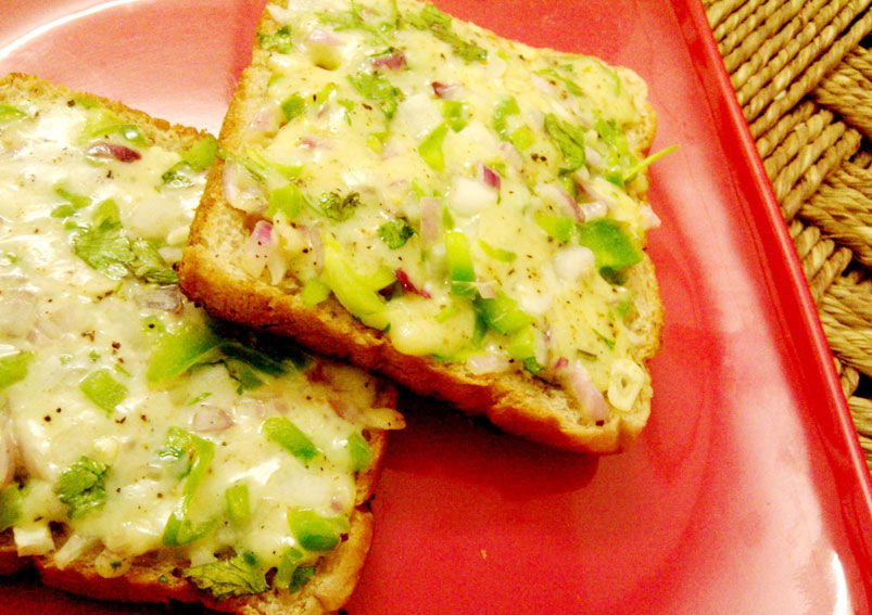 Delicious Cheese Chilli Toast Recipe