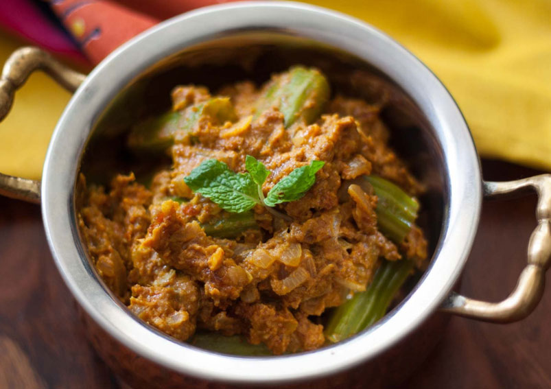 Andhra Style Drumstick Curry Recipe