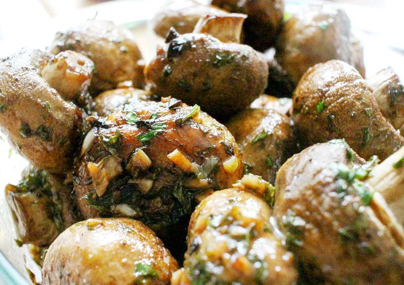 Easy Garlic Butter Mushrooms Recipe