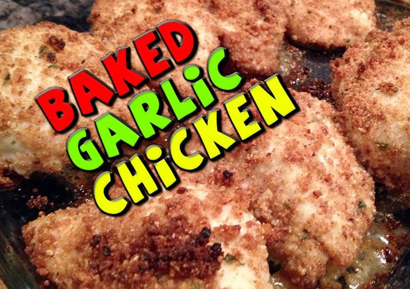 Easy Garlic Chicken Recipe