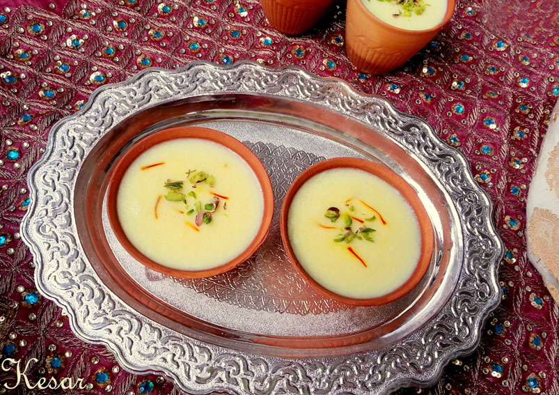 Easy Kesari Phirni Recipe