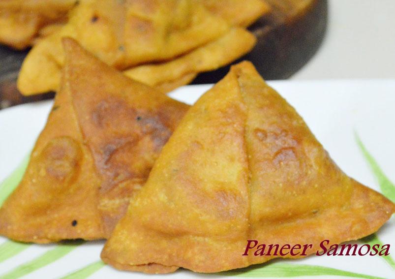 Easy Paneer Samosa Recipe