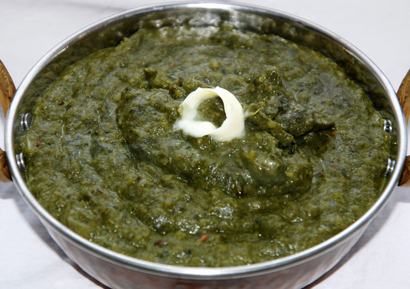 Easy Sarason Ki Saag Recipe